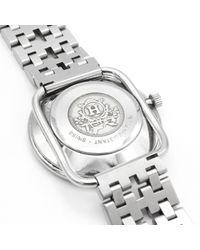 Reloj en acero plateado Arceau Hermès de color Metallic