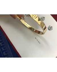 Cartier Yellow Love Gelbgold Armbänder