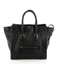 Céline Pre-owned Black Leather Handbag