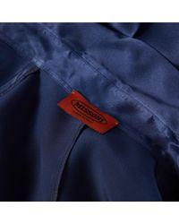 Missoni Blue Seide Hemd