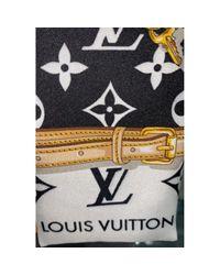 Foulard Nero di Louis Vuitton in Black