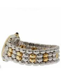 Orologio in oro e acciaio bianco Happy Sport di Chopard in White