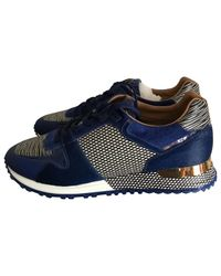 Louis Vuitton Blue Pre-owned Trainers