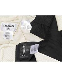 Robe en Coton Noir Chanel en coloris Black