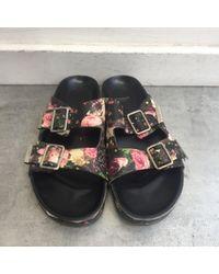 Sandalias en cuero multicolor \N Givenchy