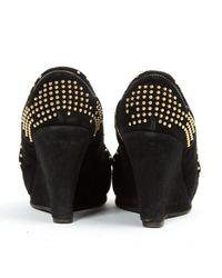 Miu Miu \n Black Suede Heels