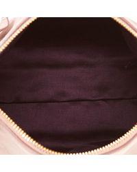 Bolso de Cuero Miu Miu de color Pink