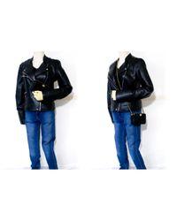 Chanel Black Leder Cross Body Tashe