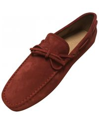 Tod's Red Pre-owned Flats for men