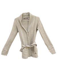 Roberto Cavalli Natural \n Beige Wool Knitwear