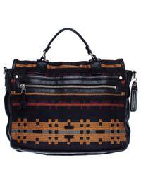 Proenza Schouler Blue Ps1 Leinen Handtaschen