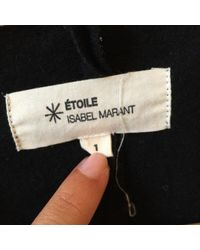 Étoile Isabel Marant Black Wool Dress