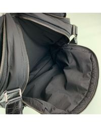 Tod's Black Cloth Bag for men