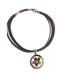 BVLGARI - Metallic Pre-owned Tondo Gold Gold And Steel Long Necklaces - Lyst