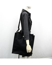 Bolsa de mano en cuero negro Givenchy de color Black