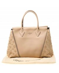 Louis Vuitton Natural Leder Shopper