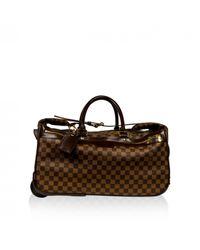 Louis Vuitton Brown Eole Leinen Reisetaschen