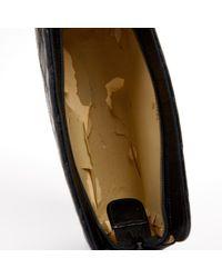 Chanel Black Leder Clutches