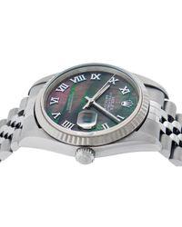 Rolex Datejust 36mm Uhren in Multicolor für Herren