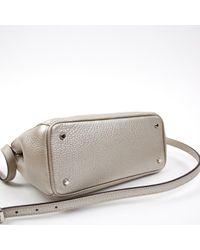 Dior Metallic Issimo Leder Cross Body Tashe