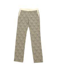 Pantalones crudo Chloé de color Multicolor