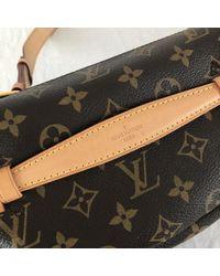 Louis Vuitton Brown Bum Bag / Sac Ceinture Leinen Clutches