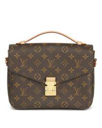 Sac bandoulière Metis en cuir Louis Vuitton en coloris Brown
