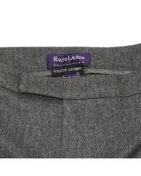 Ralph Lauren Collection Gray Wolle Schlage Hozen