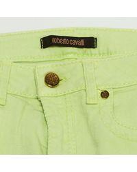 Roberto Cavalli \n Green Cotton - Elasthane Jeans