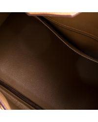 Hermès Brown Birkin 30 Leder Shopper