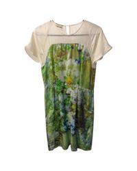By Malene Birger Green Seide Midi Kleid