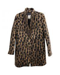 Max Mara Pre-owned Brown Wool Coats