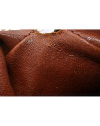 Bolsa de mano en lona marrón Papillon Louis Vuitton de color Brown