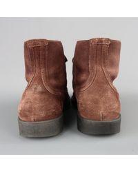 Bottega Veneta Stiefel in Brown für Herren