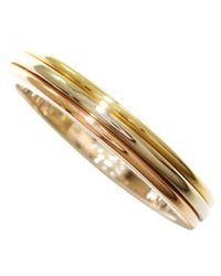 Cartier - Metallic Pre-owned Ring - Lyst
