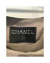 Chaqueta corta de Lana Chanel de color Multicolor