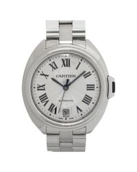 Cartier - Metallic Pre-owned Clé De Watch - Lyst