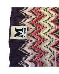 Missoni Brown Wolle Schals