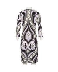 Emilio Pucci Multicolor Mid-length Dress