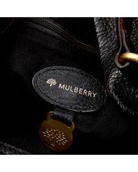 Sac à main en Cuir Noir Mulberry en coloris Black
