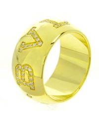 BVLGARI - Pre-owned Yellow Gold Ring - Lyst