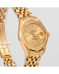 Rolex Yellow Lady Datejust 26mm Gelbgold Uhren