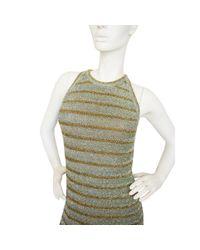 Balmain Metallic Mini Kleid