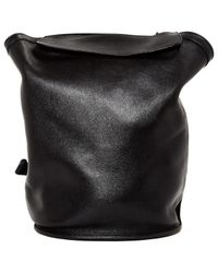 Hermès - Black Pre-owned Sherpa Leather Backpack - Lyst