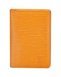 Louis Vuitton Leder Kleinlederwaren in Orange für Herren