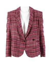 Étoile Isabel Marant Pre-owned Pink Cotton Jacket