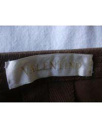 Valentino Brown Schlage Hozen