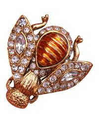 Dior - Metallic Pre-owned Pin & Brooche - Lyst