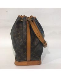 Louis Vuitton Brown Leinen Handtaschen