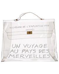 Hermès - White Pre-owned Kelly Handbag - Lyst